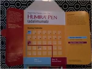 Humira Calendar